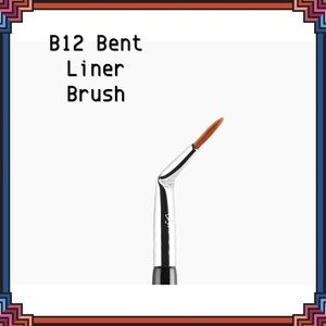 Sigma Beauty B12 Bent Liner Brush NEW